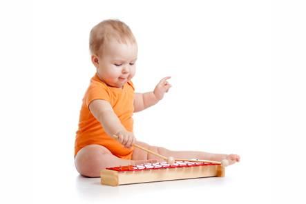 bebê & música
